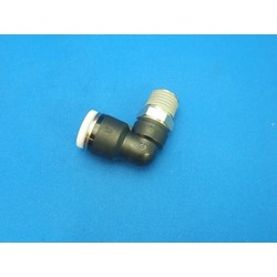 Elbow, 1/4 NPT(MPT) X 3/8 Tube
