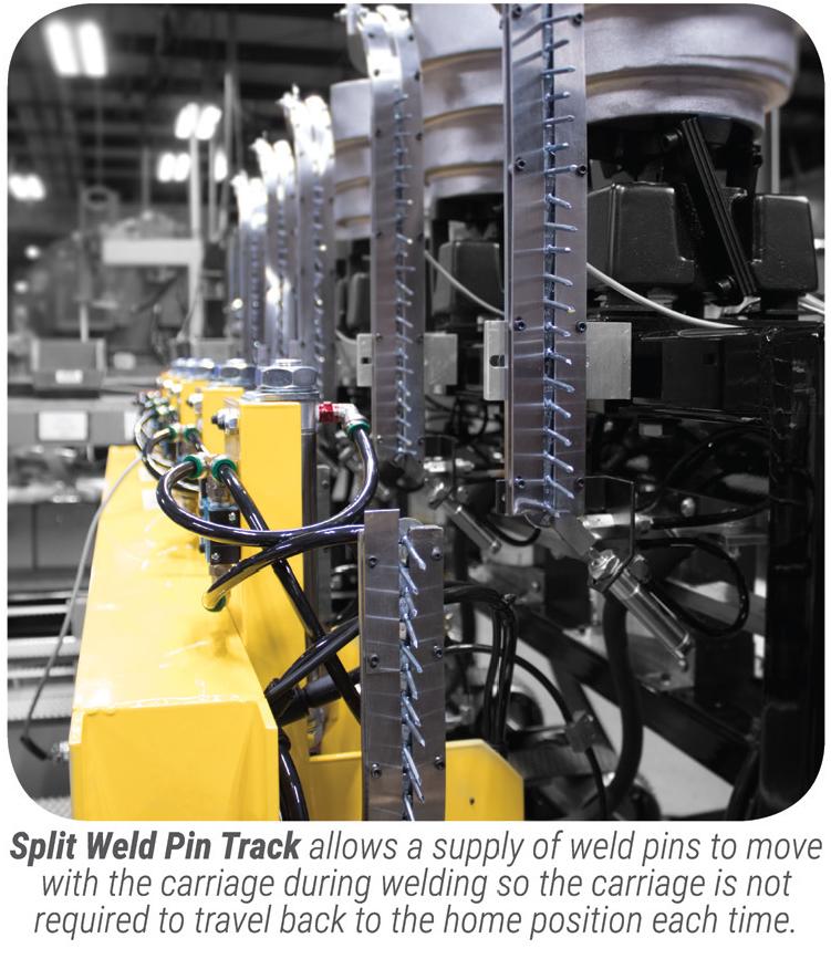 PowerPinner 50 multi head coil line pinner spotter (track)