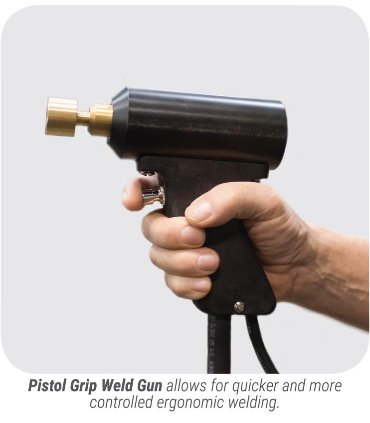 Gripnail PowerPinner 7100 Light Duty Portable Hand Welder (weld gun)