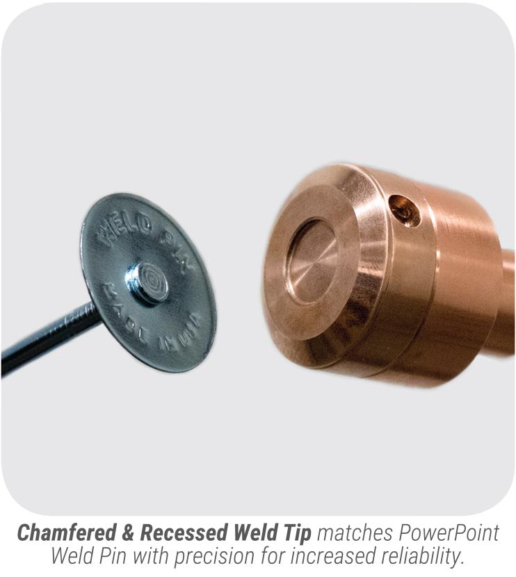 Gripnail PowerPinner 7100 Light Duty Portable Hand Welder (weld tip)