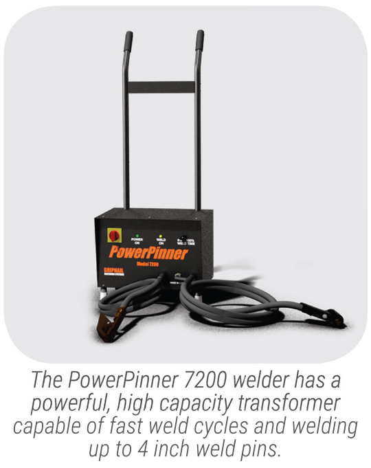 PowerPinner 7200 Heavy Duty Portable Hand Welder (small)