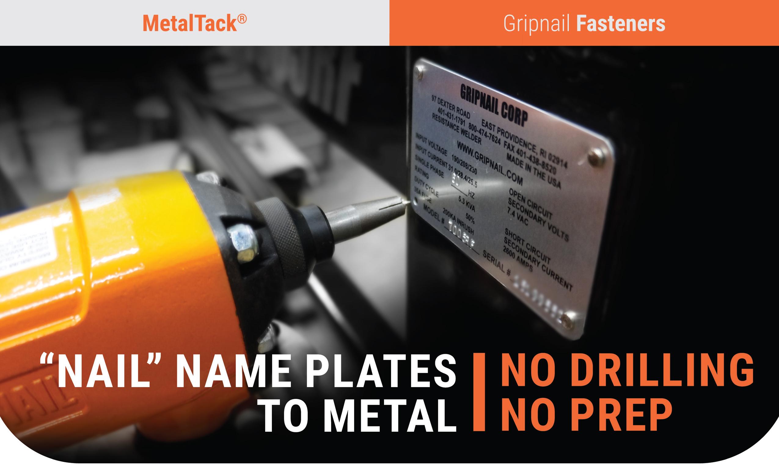 Gripnail - Name Plate Rivets