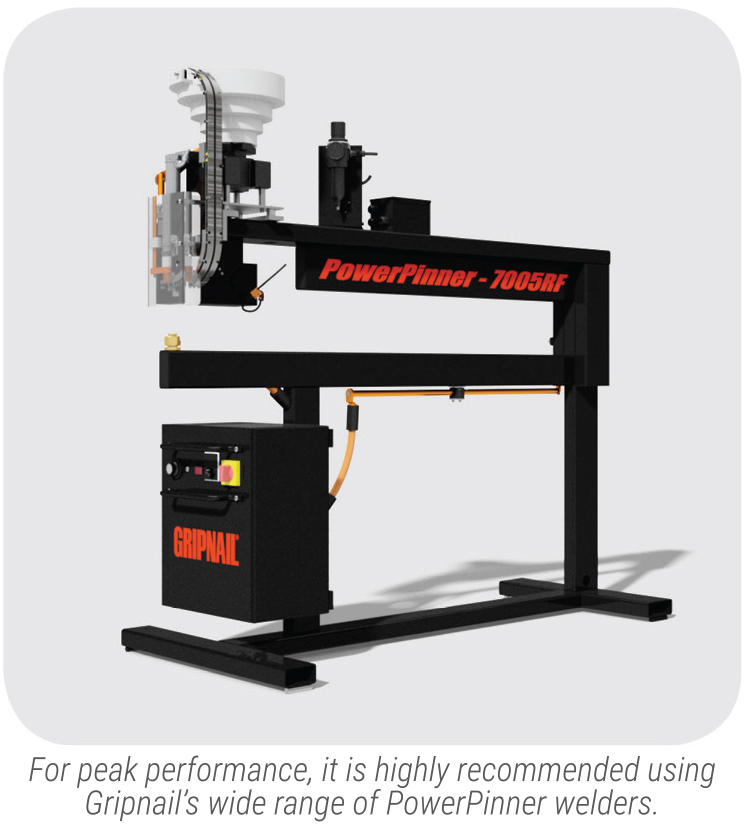PowerPinner 7005HS (High Speed - Fixed Head Welder) Pin Spotter