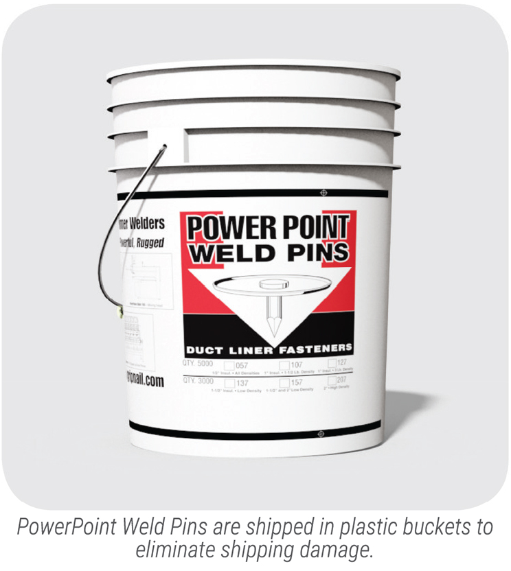 PowerPoint Weld Pin Bucket