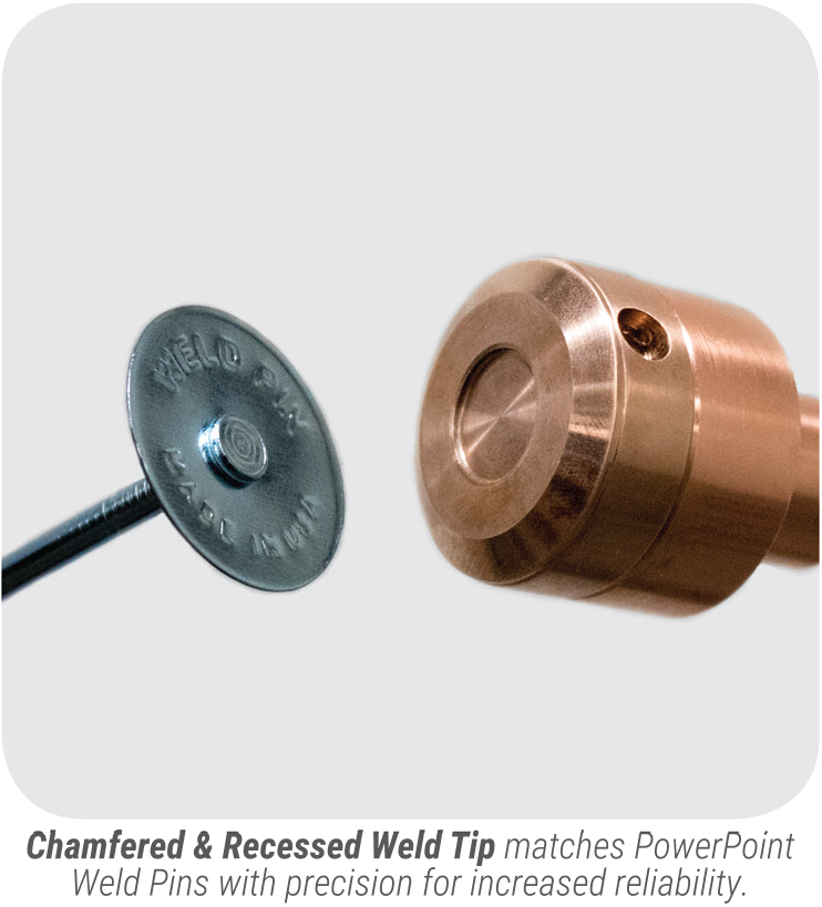 PowerPoint Weld Pin chamf & recess