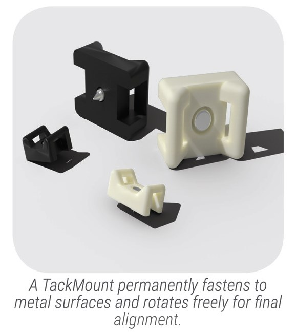 tackmount cable tie mount small